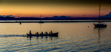 Rowing On Lake Champlain
