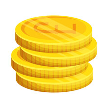 Pound Sterlings Coins Icon
