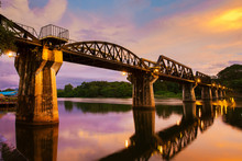 Death Bridge In Kanchanaburi T...