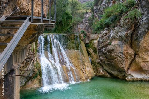 Vero river canyon, Alquezar, Huesca province, Spain
