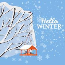Hello Winter, Snow Landscape, ...