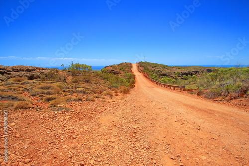 Foto op Canvas Baksteen Cape Range in Western Australia