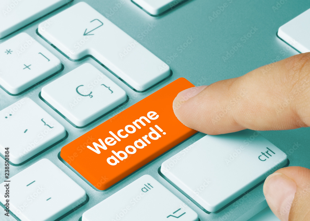 Fotografie, Obraz Welcome aboard!