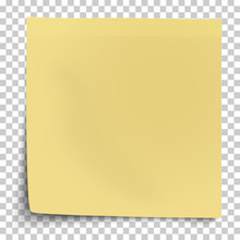 Office Yellow Paper Sticker Wi...