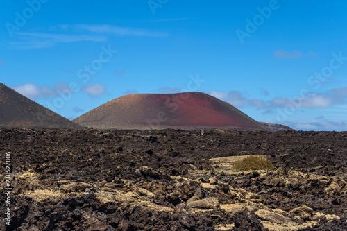 Zdjęcie XXL Wyspa Kanaryjska Lanzarote wulkanu natury lawowy plenerowy dzień