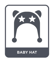 Baby Hat Icon Vector