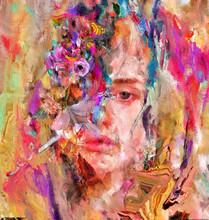 Female Beauty Face Portrait Wi...