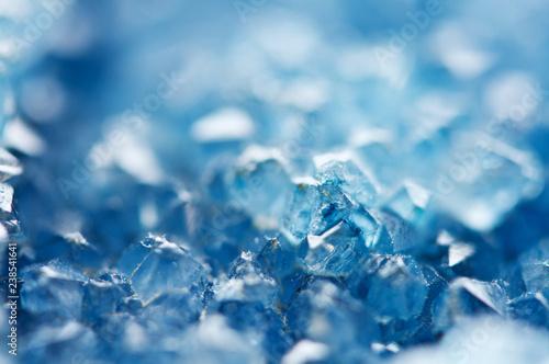 Fotografía  Beautiful texture of Blue crystals