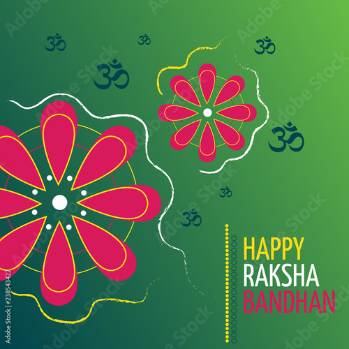 Photo  Raksha Bandhan Indian Holiday of the Brother and Sister Poster