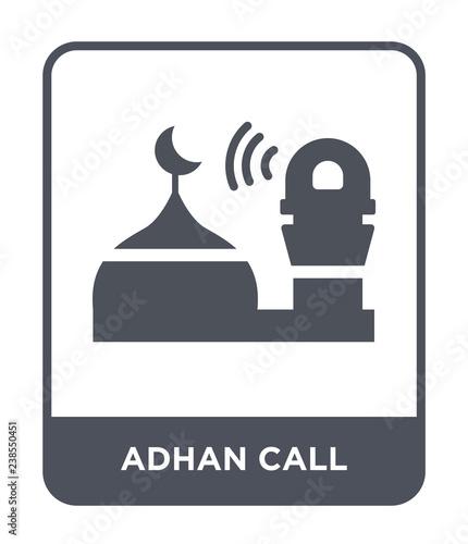 adhan call icon vector Wallpaper Mural
