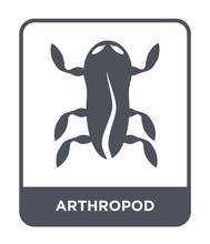 Arthropod Icon Vector