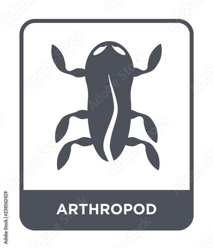 arthropod icon vector Canvas Print