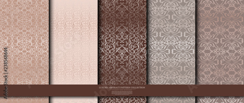 luxury abstract pattern collection texture background template vector design Canvas-taulu