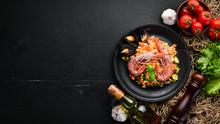 Bulgur With Shrimp, Mussels An...