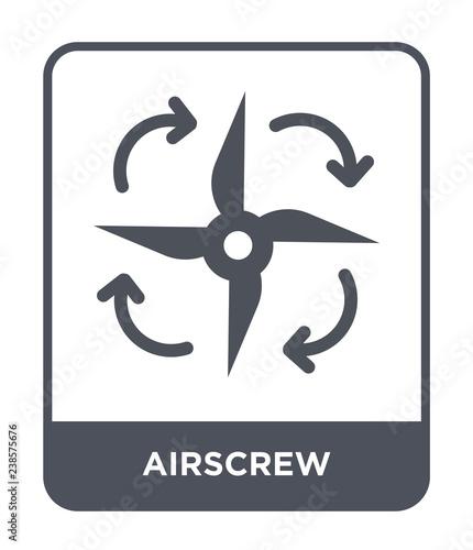 airscrew icon vector Wallpaper Mural