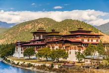 Punakha Dzong Monastery, Bhutan