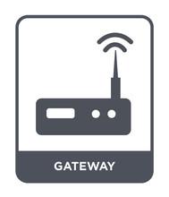 Gateway Icon Vector