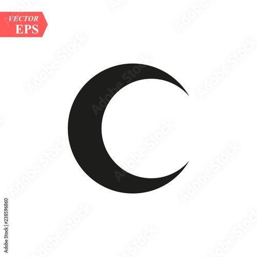 Fotografija Moon icon vector