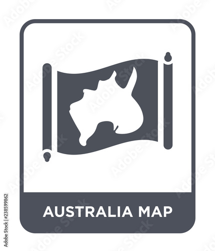 Australia Map Icon.Australia Map Icon Vector Buy This Stock Vector And Explore