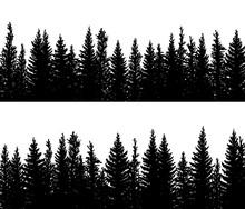 Horizontal Banner Silhouettes ...