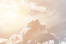Soft Cumulus Fluffy Clouds Ill...