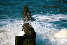 Groynes On The Beach Of The Ba...