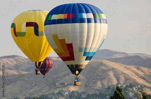 Fotografie, Obraz  Early Morning Launch of Hot Air Balloons