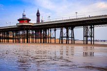 North Pier At Blackpool