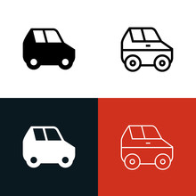 SUV Icon Set