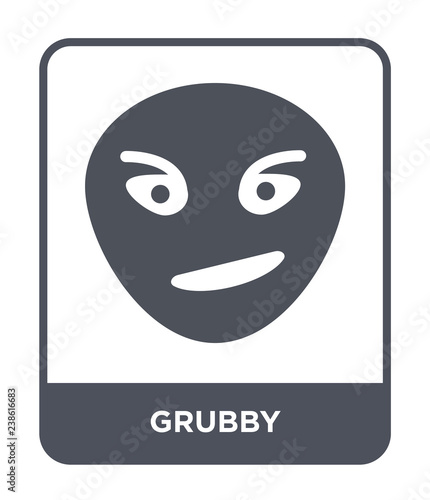 grubby icon vector Fototapet