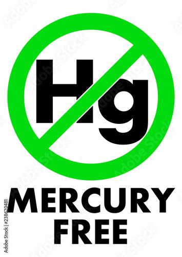 Fotografie, Obraz  Mercury free icon