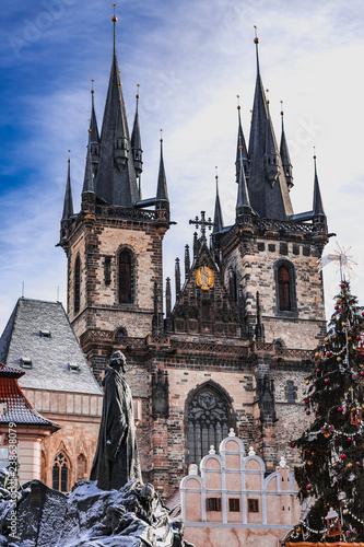 Fotografie, Obraz  Prague old town