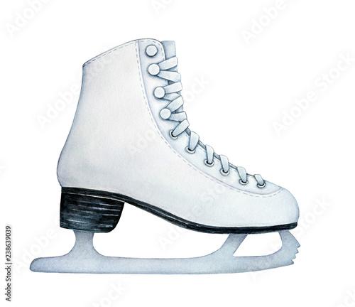 Cuadros en Lienzo Recreational figure ice skates with metal blade for women, girls, kids