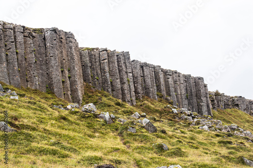 Fotografie, Obraz  Impressive basalt rock formations on Snaefellsnes, Iceland