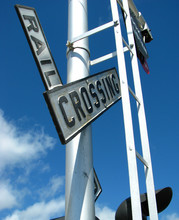 Antique Railroad Crossing Sign