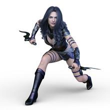 戦う女戦士