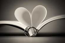 Wedding Rings With Love Book