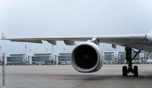 Photo Flugzeugtriebwerk