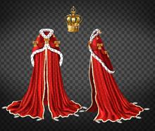Queens Or Princes Royal Robe W...