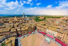 Piazza Del Campo, Siena - Aeri...