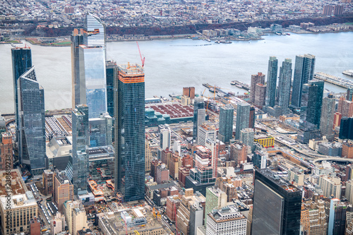 Tuinposter New York City Manhattan's Hudson Yards neighborhood is the largest real-estate development in American history
