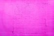 Leinwanddruck Bild - Old grungy brick wall surface in pink tone