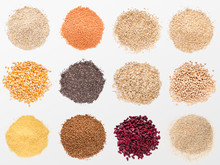 Collection Of Various Grains A...