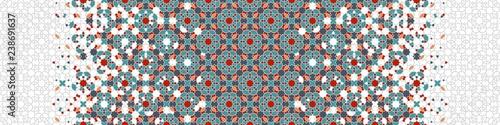 Arabesque seamless vector pattern Canvas Print
