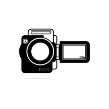 Handy Cam Icon Designed For An...