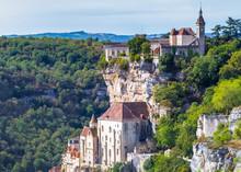 Rocamadour, Village Du Lot, Vallée De La Dordogne, France