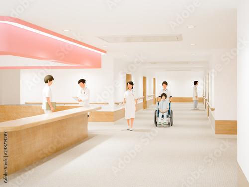 Fotografía  病院の通路
