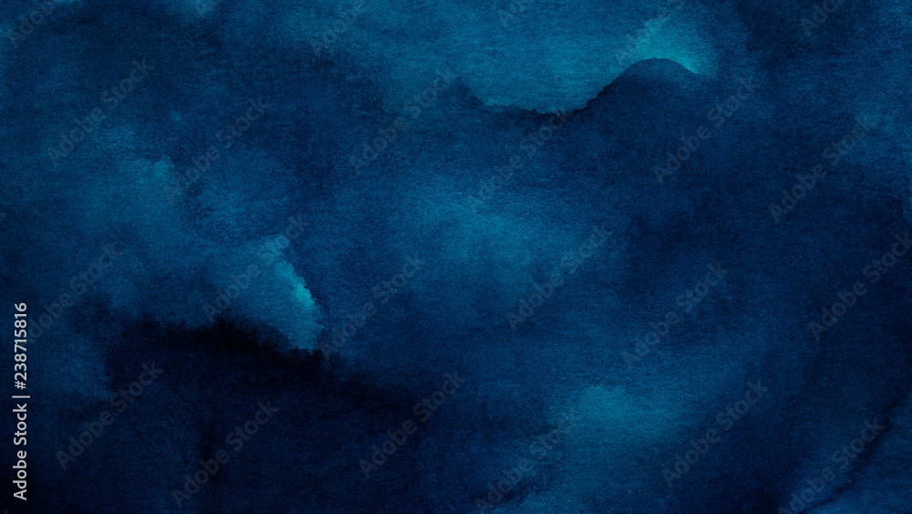 Fototapeta Blue azure abstract watercolor background for textures backgrounds and web banners design