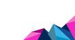 sfondo, grafica, astratto, triangoli, tecnologia,