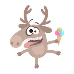 crazy deer_vj
